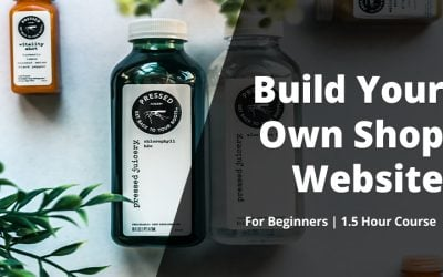 Build your own Website Store for beginners